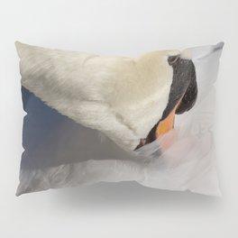 The Quiet Swan Pillow Sham
