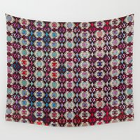 native Wall Tapestries featuring Native by Mauramon