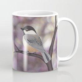 Sasha the black-capped chickadee Coffee Mug