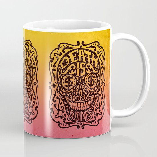 Death is a Lonely Business Mug