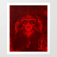 Twelfth Monkey Art Print