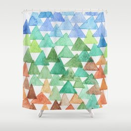 Forest of Tris Shower Curtain