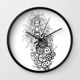 Medusa - play with me! Wall Clock