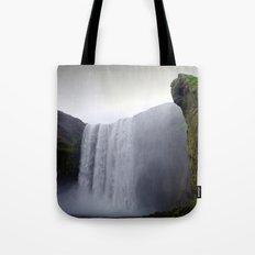 skogafoss waterfall, iceland. Tote Bag