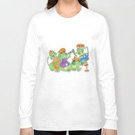 Animals - Aligator Celebration Long Sleeve T-shirt