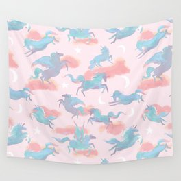 Magic Ponies Wall Tapestry