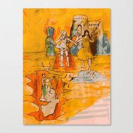 Colorrrrrrr Canvas Print