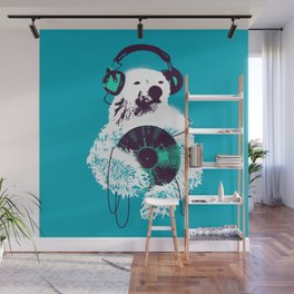 Record Bear Wall Mural