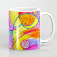carnival Mugs featuring Carnival by Dion Dior