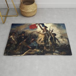 LIBERTY LEADING THE PEOPLE - EUGENE DELACROIX Rug