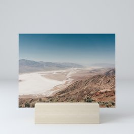 Salty View - Dante's View, Death Valley National Park (USA) |  Nature Travel Photography Mini Art Print