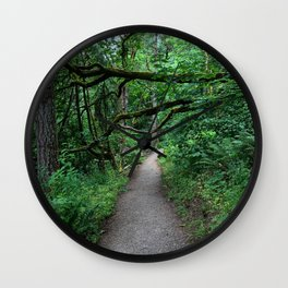 Hiking Mount Pisgah Wall Clock