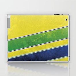 Ayrton Senna - I have no idols Laptop & iPad Skin