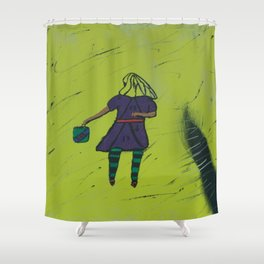 Total Revenge Shower Curtain