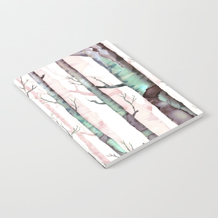 Birch Tree Forest Notebook