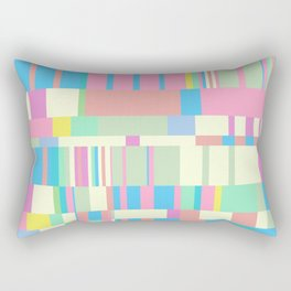 Chopin Prelude (Miami Beach Colours) Rectangular Pillow