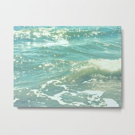 The Sea Delights Our Very Soul Metal Print