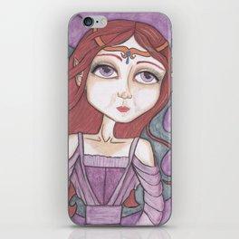 Fairy Brenna Art iPhone Skin