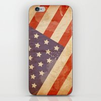 patriotic iPhone & iPod Skins featuring Patriotic  by Cloz000