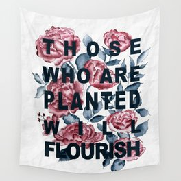 PLANTED // FLOURISH Wall Tapestry