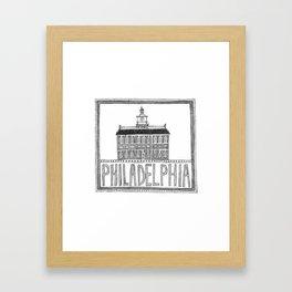 Philadephia Framed Art Print