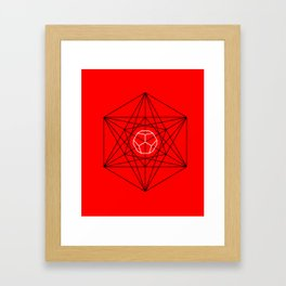 Dodecahedron Special Framed Art Print