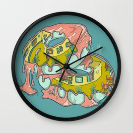 Do-Nut Touch the Art Wall Clock