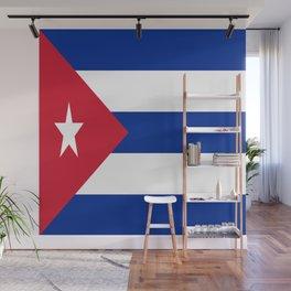 Flag of Cuba Wall Mural