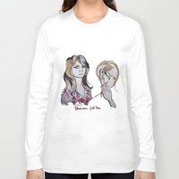tote bag Long Sleeve T-shirts featuring Blood Red Shoes Tote bag by Icillustration