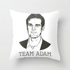 Team Adam Throw Pillow