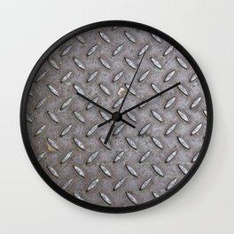 Metal steel cover Wall Clock