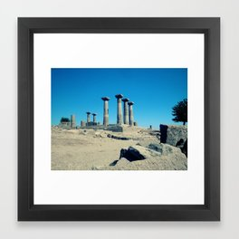 MY ATHENA MY WISDOM Framed Art Print