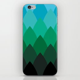 Forest Ombré iPhone Skin