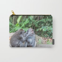 Crab-eating Macaque IV (Balinese Monkey) Carry-All Pouch
