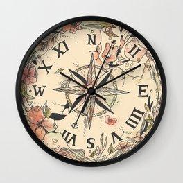 Au Revoir Wall Clock