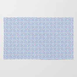Geometric Mosaic Connections Rug