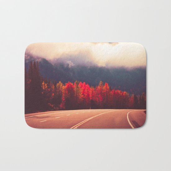 Misty Road Bath Mat