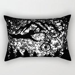 MTB Mountain Bike Mountainbike Downhill Rectangular Pillow