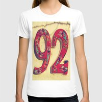 number T-shirts featuring door number by gzm_guvenc