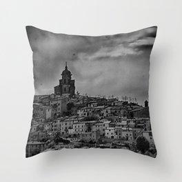 Italian Townscape Throw Pillow