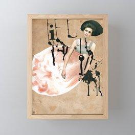 My broken heart Framed Mini Art Print