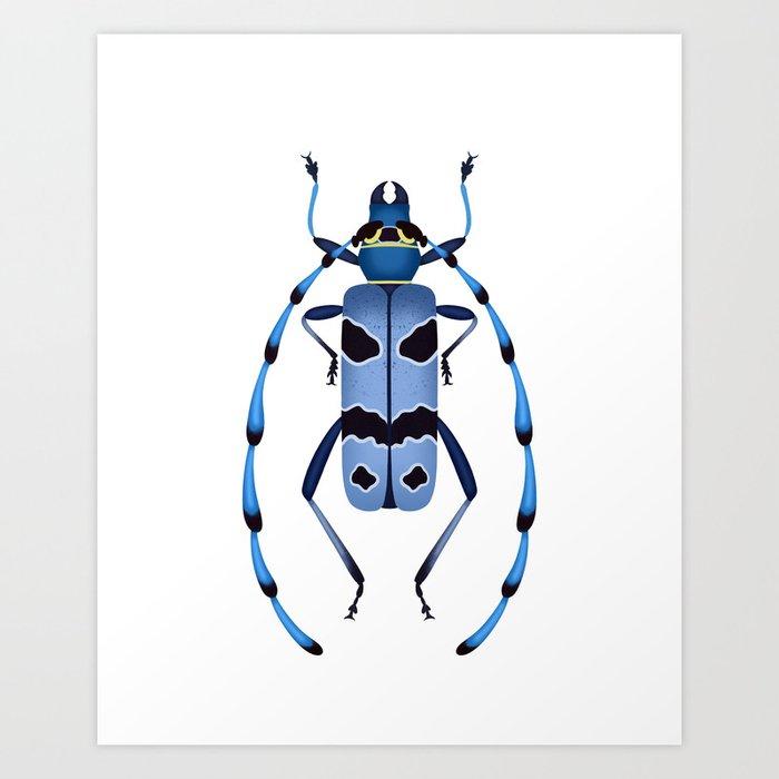 Alpine Longhorn Art Print
