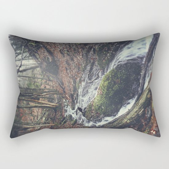 Rushing Water Rectangular Pillow