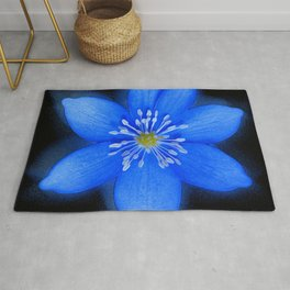 Blue Powder Rug