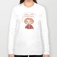 enjolras Long Sleeve T-shirts featuring Enjolras Reminder by Antisepticbandaid