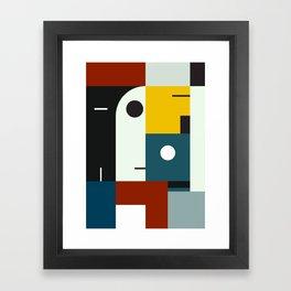 BAUHAUS AGE Framed Art Print