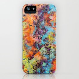 Playing colors iPhone Case