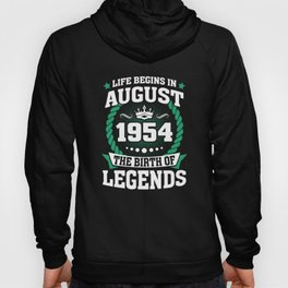 August 1954 The Birth Of Legends Hoody