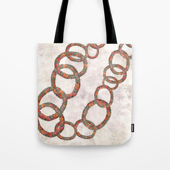 Woman in chains Tote Bag