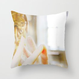 Reflection and connection Throw Pillow
